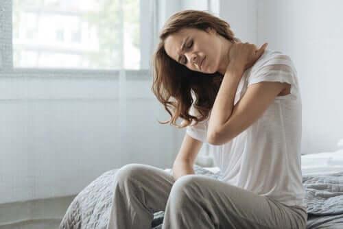 Kroppens förmåga att uppfatta smärta och temperatur