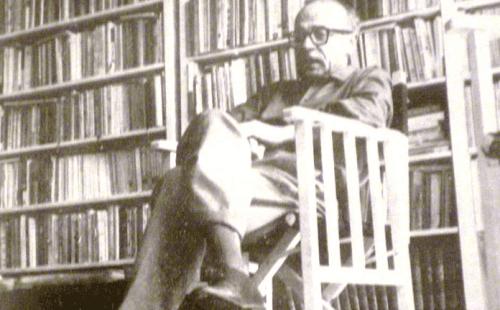 Ernesto Sabato i bibliotek