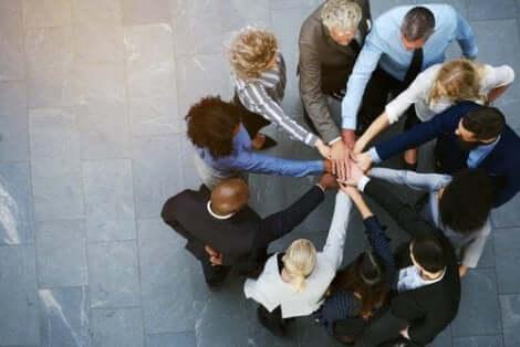 Grupp med sammahållning