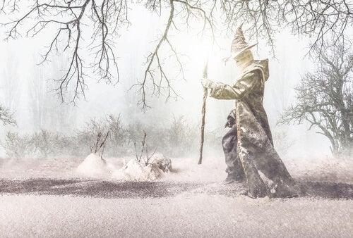 Biografin om legenden Merlin: Keltisk mytologi