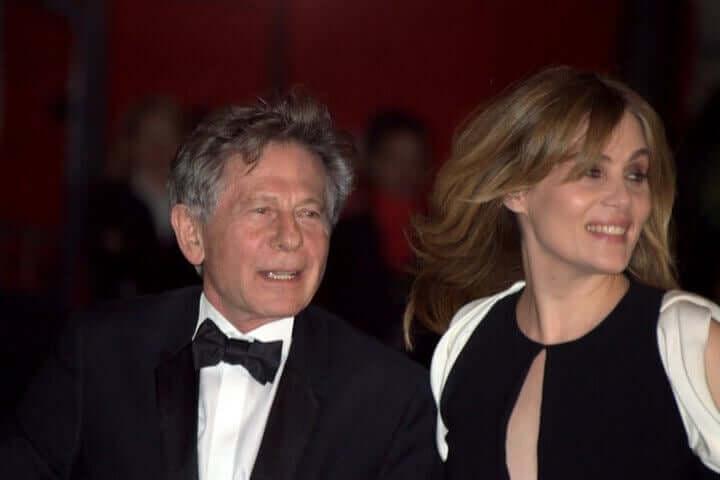 Polanski på röda mattan.