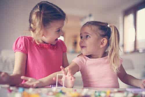 Grunden till barns empatiska utveckling
