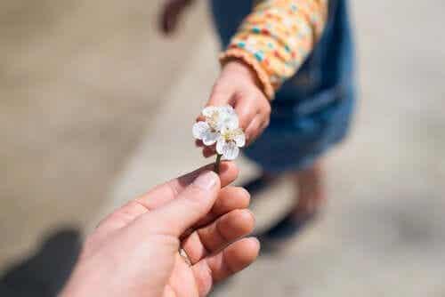 Det är viktigt att lära barn tacksamhet