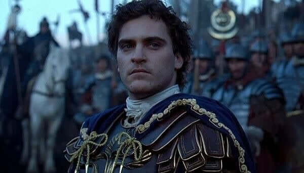 Commodus i Gladiator
