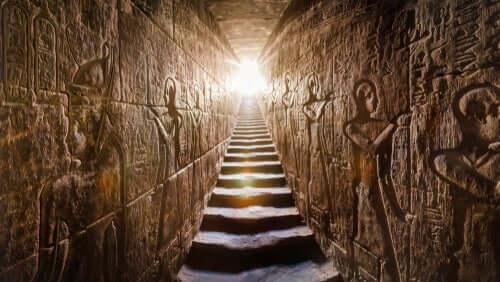 Egyptisk kultur är för många mest förknippad med pyramiderna