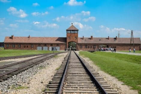 Kocentrationslägret i Auschwitz