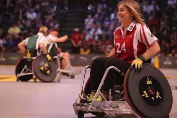 Sportar i rullstol