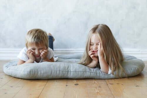 Barn som är uttråkade – en bra inlärningsmetod
