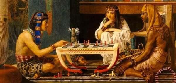 Egyptisk kultur utmärkte sig på många olika nivåer