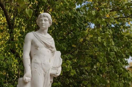 Staty av Orfeus.