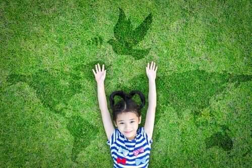 Tre kreativa sätt att förklara frid för barn
