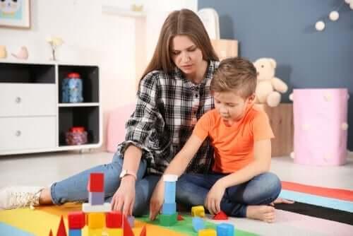 Psykologisk behandling för autism