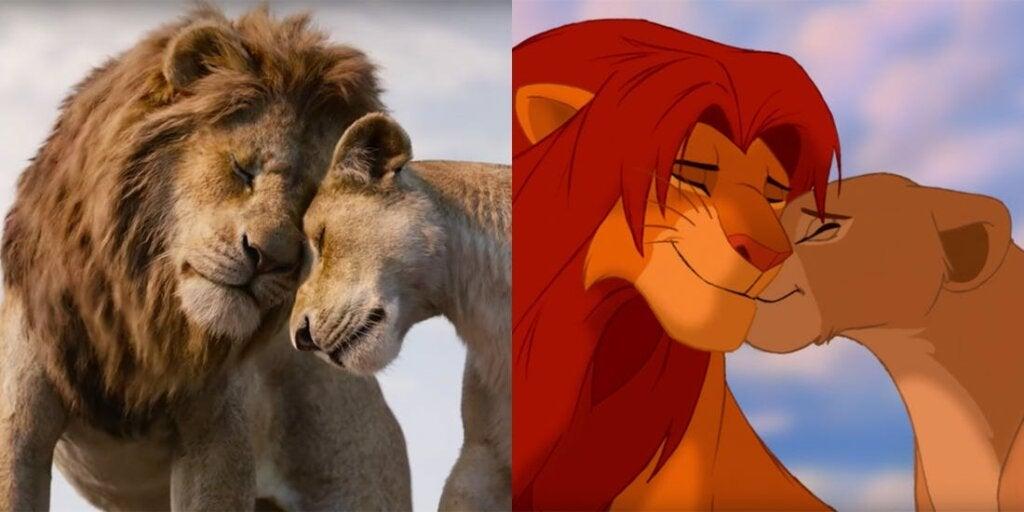 Nyinspelningen av Lejonkungen följer originalet noga
