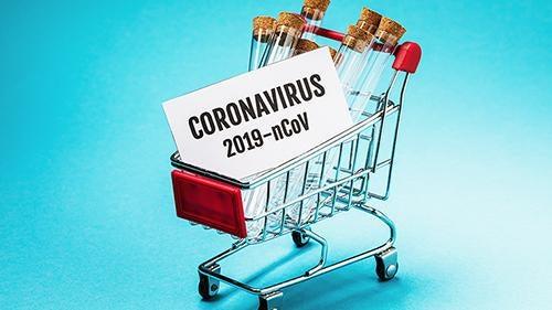 Situationen med coronaviruset har lett till hamstrande av varor