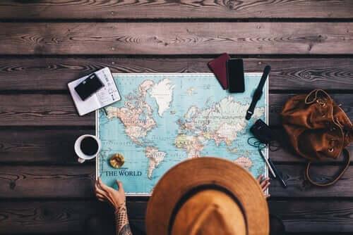Att fly bort genom att resa