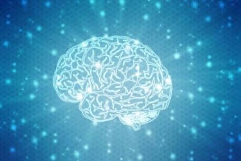 En hjärna upplyst av neuropsykologisk rehabilitering