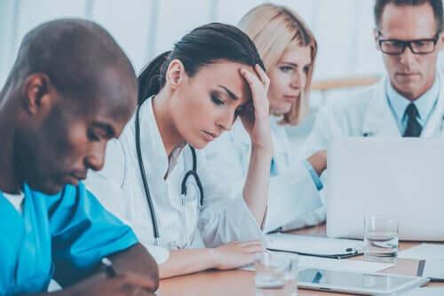 Risken för utbrändhet bland vårdpersonal