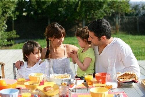Viktiga ögonblick med familjen
