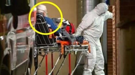 Alberto Belluci åker till sjukhus
