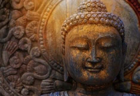 En leende Budda