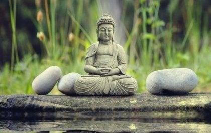Tio andliga världar och zenbuddhism