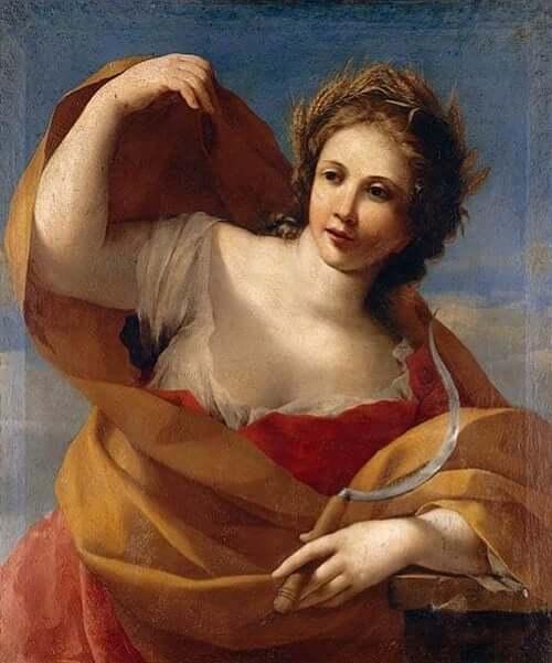 Gudinnan Demeter, den blonda fruktbarhetsgudinnan