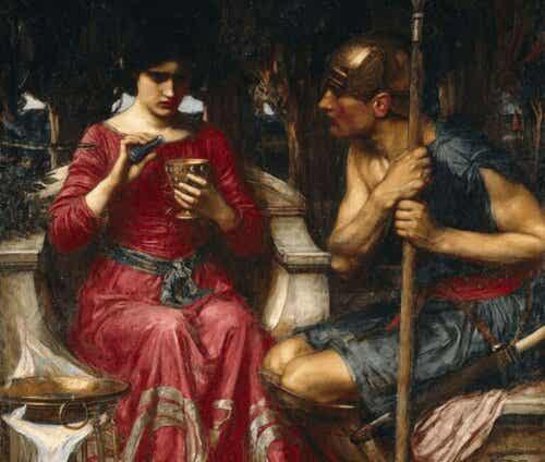 Myten om Medea, en förälskad trollkvinna