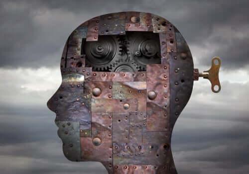 En mekanisk hjärna.