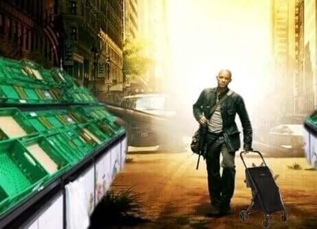 Memes i relation till coronaviruset: Will Smith shoppar i I am Legend