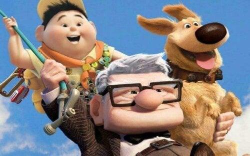 Pixars film Upp: hur vi kan uppfylla våra livsmål