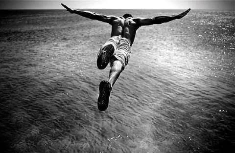 Adrenalinberoende dyker i havet