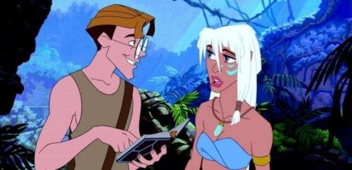 Disneyfilmen Atlantis och kvinnors roll i Disneyfilmer