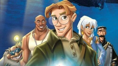 Karaktärer i Disneyfilmen Atlantis