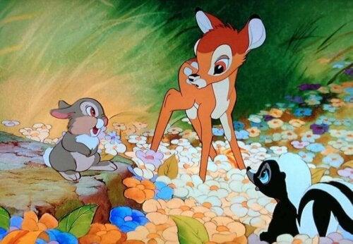 Filmer om djur: Scen från Bambi