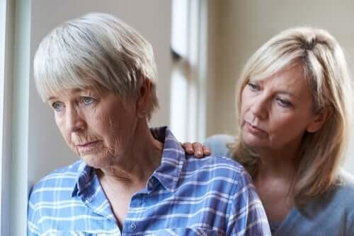 Den kognitiva nedsättningen är mindre vid subkortikal demens än vid kortikal demens