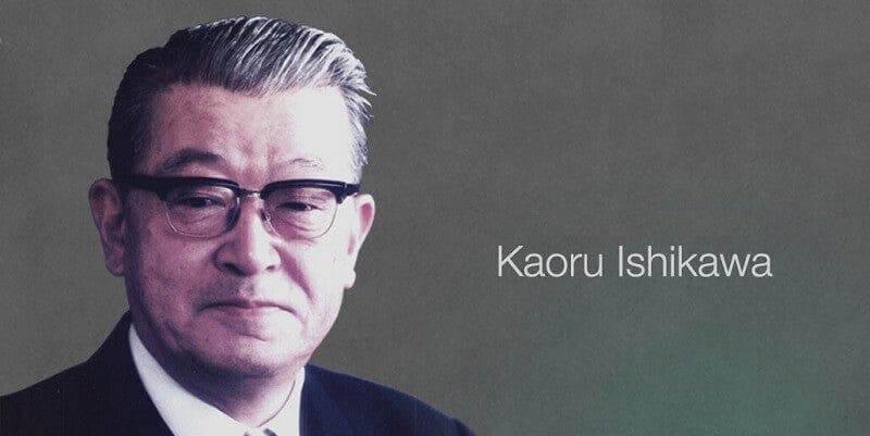 Karou Ishikawa gjorde sig känd som organisationsteoretiker
