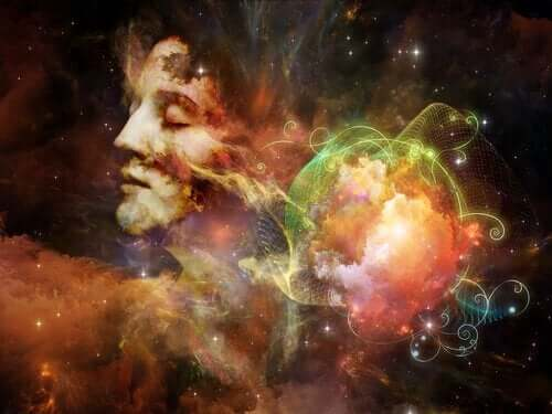Ett mänskligt sinne i kosmos