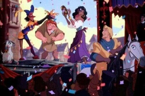 Ringaren i Notre Dame: Quasimodo och Esmeralda