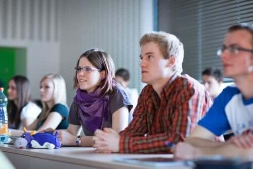 Studenter i utbildning och politiska åsikter