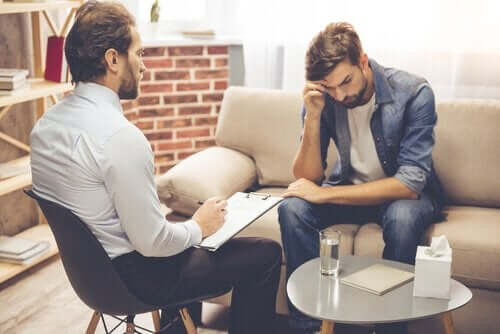 Psykologisession för problem med tvångsmässiga behov