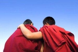 Tibetanska munkar som förvånade forskare