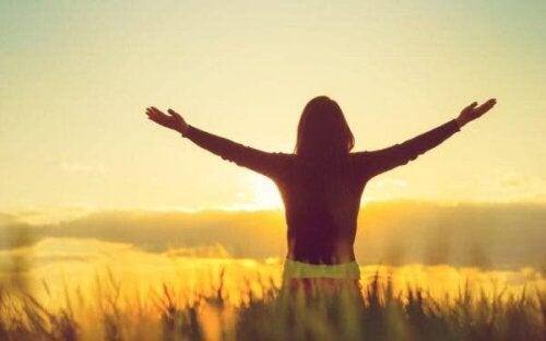 Positiva tankesätt håller dig frisk