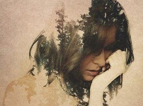 Känslor hjälper oss: En oroad kvinna
