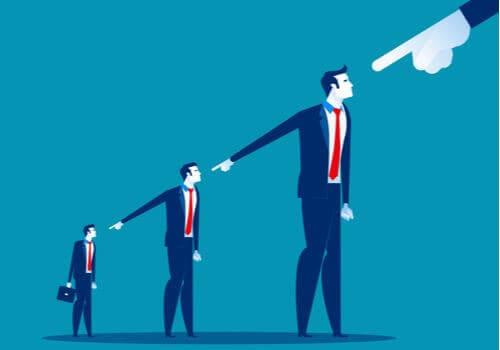 Att skylla på andra som strategi för att undvika ansvar