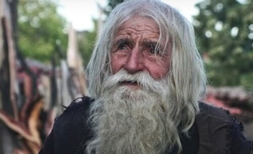 Farfar Dobri: den helgonlika tiggaren