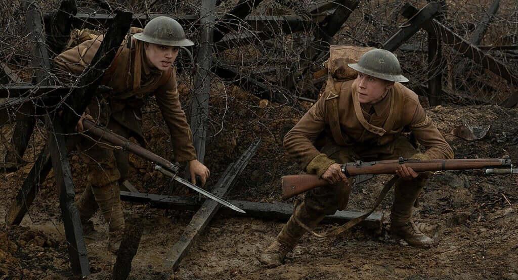 I filmen 1917 är handlingen fokuserad på två unga soldater
