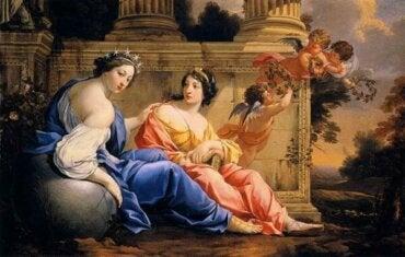 Myten om muserna: en källa till kreativ inspiration