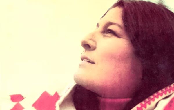 Folksångerskan Mercedes Sosa är känd för sitt engagemang för mänskliga rättigheter