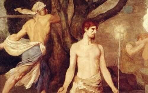 Enligt legenden lät kejsaren Claudius II halshugga Sankt Valentin