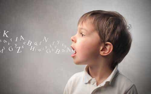 Vanliga språkfel hos barn i åldrarna tre till sex år